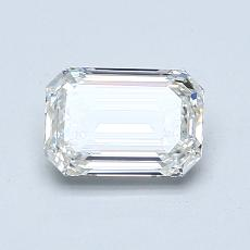 Recommended Stone #4: 1.00-Carat Emerald Cut Diamond