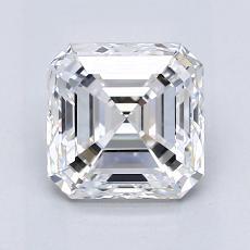 1.80 Carat 上丁方形 Diamond 非常好 E VVS1