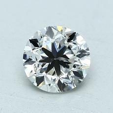 オススメの石No.2:1.00カラットのラウンドカットダイヤモンド