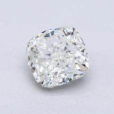 1,03-Carat Cushion Diamond Very Good I SI1