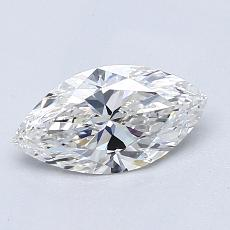 Recommended Stone #1: 0,80-Carat Marquise Cut Diamond