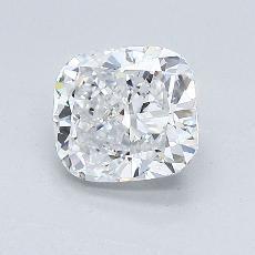 目标宝石:1.07 克拉垫形钻石