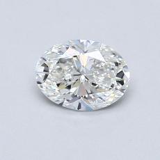 推荐宝石 2:0.54克拉椭圆形切割钻石
