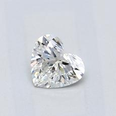 Recommended Stone #2: 0.45-Carat Heart Cut Diamond