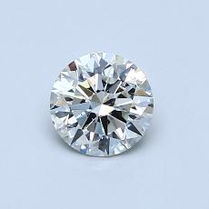 0.55-Carat Round Diamond Ideal K SI2