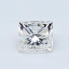 Recommended Stone #4: 0.70-Carat Princess Cut Diamond