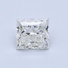 0.71-Carat Princess Diamond Very Good I VVS1