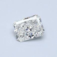 Recommended Stone #4: 0.40-Carat Radiant Cut Diamond