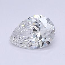 推荐宝石 4:0.70 克拉梨形切割钻石