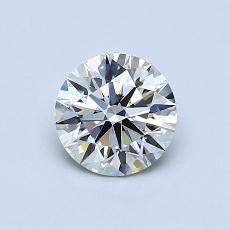 推薦鑽石 #2: 0.71 克拉圓形切割鑽石