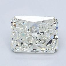 1.52-Carat Radiant Diamond Very Good J SI2