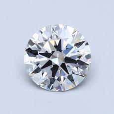 0.80-Carat Round Diamond Ideal G IF