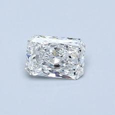 Recommended Stone #4: 0.41-Carat Radiant Cut Diamond