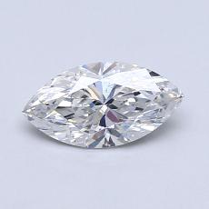 Recommended Stone #2: 0,58-Carat Marquise Cut Diamond