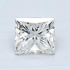 0.90-Carat Princess Diamond Very Good H VS2