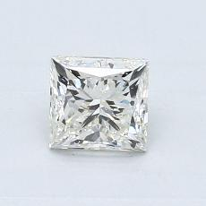 オススメの石No.3:0.70カラットのプリンセスカットダイヤモンド
