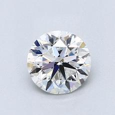 推荐宝石 3:0.90 克拉圆形切割