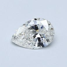 Recommended Stone #2: 0,47-Carat Pear Cut Diamond