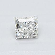Recommended Stone #3: 0.41-Carat Princess Cut Diamond