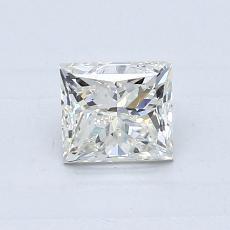 オススメの石No.2:0.70カラットのプリンセスカットダイヤモンド