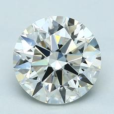 Recommended Stone #2: 2.21-Carat Round Cut Diamond