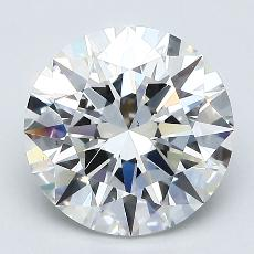 2.03-Carat Round Diamond Ideal F VS1