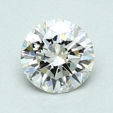 1.20-Carat Round Diamond Ideal K VVS2