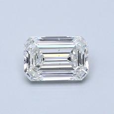 推荐宝石 3:0.63 克拉祖母绿切割钻石