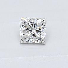 推薦鑽石 #4: 0.31  克拉公主方形鑽石