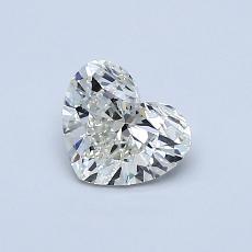 Pierre recommandée n°3: Diamant taille cœur 0,60carat