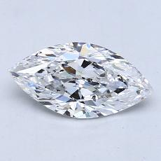 Recommended Stone #3: 1.01-Carat Marquise Cut Diamond