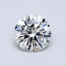 Recommended Stone #3: 0,81-Carat Round Cut Diamond