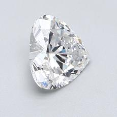 1.05-Carat Heart Diamond Very Good E SI1