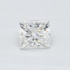 Recommended Stone #4: 0.41-Carat Princess Cut Diamond