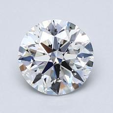 1.51-Carat Round Diamond Ideal E SI1
