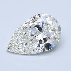 Recommended Stone #3: 0.97-Carat Pear Cut Diamond