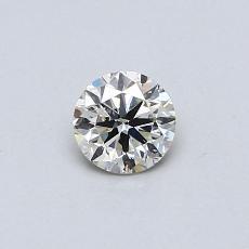 Target Stone: 0.32-Carat Round Cut Diamond