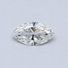 推荐宝石 3:0.45 克拉马眼形钻石