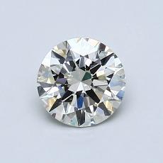 推薦鑽石 #3: 0.75 克拉圓形切割鑽石