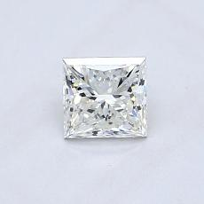 Recommended Stone #3: 0.54-Carat Princess Cut Diamond