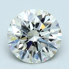 Recommended Stone #4: 2.33-Carat Round Cut