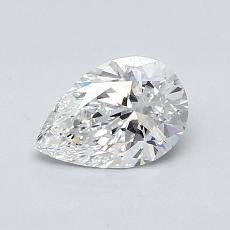 推荐宝石 2:0.72 克拉梨形切割钻石