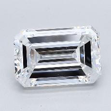 Recommended Stone #4: 3.22-Carat Emerald Cut Diamond