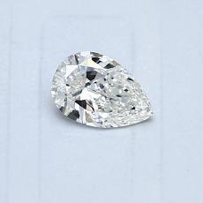 0,30-Carat Pear Diamond Very Good G VVS1