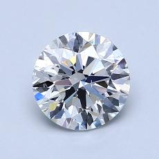 1.20-Carat Round Diamond Ideal D SI1