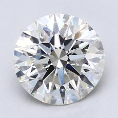 Recommended Stone #2: 2.22-Carat Round Cut Diamond