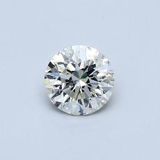 Recommended Stone #3: 0,42-Carat Round Cut Diamond