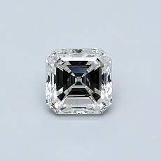 Target Stone: 0.50-Carat Asscher Cut Diamond