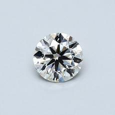 当前宝石:0.40 克拉圆形切割