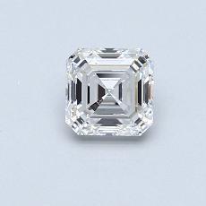 推薦鑽石 #4: 0.57  克拉上丁方形鑽石